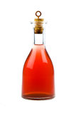 κόκκινο μπουκαλιών Στοκ εικόνα με δικαίωμα ελεύθερης χρήσης