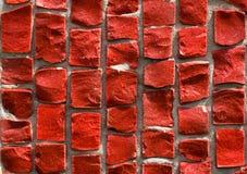 κόκκινο μωσαϊκών Στοκ Φωτογραφίες