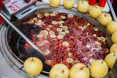 Κόκκινο νερό αχλαδιών της Κίνας Στοκ φωτογραφία με δικαίωμα ελεύθερης χρήσης