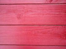 Κόκκινο ξύλινο υπόβαθρο slats στο υπόβαθρο Στοκ Εικόνες