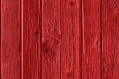 Κόκκινο ξύλινο υπόβαθρο Στοκ Φωτογραφίες