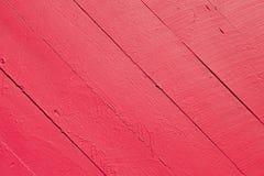 Κόκκινο ξύλινο Slats υπόβαθρο Στοκ Εικόνες