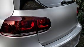 Κόκκινο οδηγημένο οπίσθιο φανάρι στοκ φωτογραφία