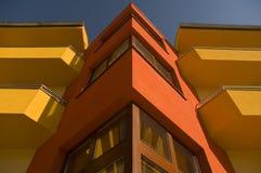 κόκκινο οικοδόμησης Στοκ Εικόνες