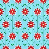 κόκκινο λουλουδιών Στοκ εικόνα με δικαίωμα ελεύθερης χρήσης