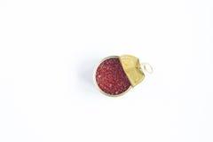 κόκκινο δοχείων μετάλλω&nu Στοκ φωτογραφία με δικαίωμα ελεύθερης χρήσης