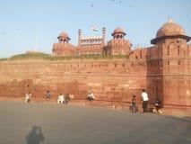 Κόκκινο οχυρό Ινδία Στοκ Εικόνες