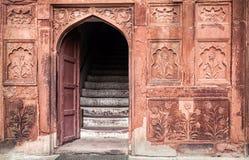 Κόκκινο οχυρό στην Ινδία Στοκ Εικόνα