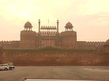 Κόκκινο οχυρό στοκ εικόνα