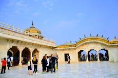 Κόκκινο οχυρό Agra στοκ εικόνες με δικαίωμα ελεύθερης χρήσης