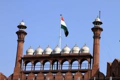 κόκκινο οχυρών του Δελχί στοκ φωτογραφίες με δικαίωμα ελεύθερης χρήσης