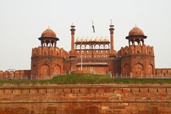κόκκινο οχυρών στοκ φωτογραφίες