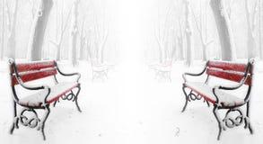 κόκκινο πάγκων Στοκ εικόνα με δικαίωμα ελεύθερης χρήσης