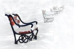 κόκκινο πάγκων Στοκ φωτογραφία με δικαίωμα ελεύθερης χρήσης
