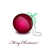 Κόκκινο παιχνιδιών Χριστουγέννων Στοκ Εικόνες