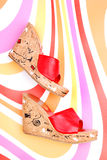 Κόκκινο παπούτσι Στοκ Εικόνα