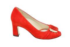 Κόκκινο παπούτσι Στοκ Φωτογραφία