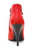 κόκκινο παπούτσι Στοκ φωτογραφίες με δικαίωμα ελεύθερης χρήσης
