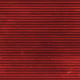 Κόκκινο παραθυρόφυλλο κυλίνδρων Στοκ Φωτογραφία
