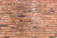 Κόκκινο παλαιό υπόβαθρο σύστασης τουβλότοιχος για την εσωτερική διακόσμηση ομο Στοκ φωτογραφίες με δικαίωμα ελεύθερης χρήσης