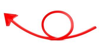 κόκκινο πεζοδρομίων ανασκόπησης βελών στοκ εικόνες με δικαίωμα ελεύθερης χρήσης