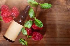 Κόκκινο πετρέλαιο σπόρου σμέουρων Καθαρός, φυσικός Aromatherapy, πετρέλαιο βάσεων μασάζ, Sunscreen στοκ εικόνες με δικαίωμα ελεύθερης χρήσης