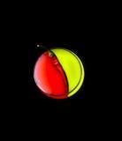 Κόκκινο πιπέρι σε ένα γυαλί με Στοκ Φωτογραφία