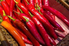 Κόκκινο πιπέρι τσίλι Στοκ εικόνα με δικαίωμα ελεύθερης χρήσης