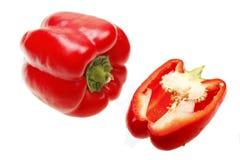 κόκκινο πιπεριών κουδο&upsilo Στοκ Εικόνα