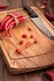 κόκκινο πιπεριών τσίλι πο&upsilo Στοκ φωτογραφίες με δικαίωμα ελεύθερης χρήσης