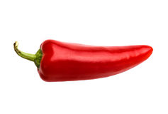 κόκκινο πιπεριών τσίλι Στοκ φωτογραφία με δικαίωμα ελεύθερης χρήσης
