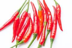 κόκκινο πιπεριών τσίλι ανα&s Στοκ Εικόνες