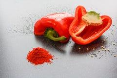 κόκκινο πιπεριών Στοκ Εικόνα