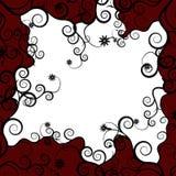 κόκκινο πλαισίων λουλο Στοκ Εικόνες