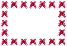 κόκκινο πλαισίων τόξων Στοκ Φωτογραφία