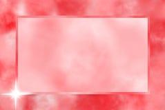 κόκκινο πλαισίων Στοκ Εικόνες
