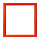 κόκκινο πλαισίων Στοκ φωτογραφία με δικαίωμα ελεύθερης χρήσης