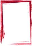 κόκκινο πλαισίων grunge Στοκ φωτογραφίες με δικαίωμα ελεύθερης χρήσης