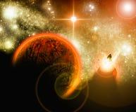 κόκκινο πλανητών Στοκ Εικόνα
