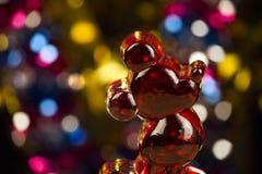 Κόκκινο ποιοτικό φως στούντιο ποντικιών στοκ φωτογραφίες