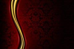 κόκκινο πολυτέλειας αν&a Στοκ Φωτογραφίες