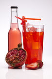Κόκκινο ποτό Στοκ Φωτογραφίες