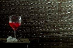 Κόκκινο ποτό στοκ φωτογραφία
