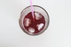 Κόκκινο ποτό Στοκ φωτογραφία με δικαίωμα ελεύθερης χρήσης