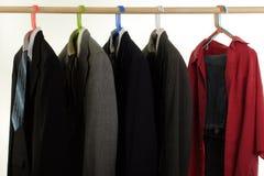 κόκκινο πουκάμισο Παρασ& Στοκ εικόνα με δικαίωμα ελεύθερης χρήσης