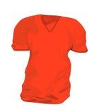 κόκκινο πουκάμισο τ Απεικόνιση αποθεμάτων