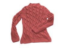 κόκκινο πουλόβερ Στοκ φωτογραφίες με δικαίωμα ελεύθερης χρήσης