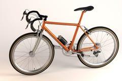 Κόκκινο ποδήλατο αγώνα ελεύθερη απεικόνιση δικαιώματος