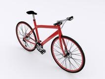 Κόκκινο ποδήλατο Στοκ εικόνες με δικαίωμα ελεύθερης χρήσης