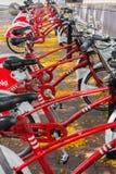κόκκινο ποδηλάτων Στοκ εικόνα με δικαίωμα ελεύθερης χρήσης